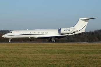 N517DW - Private Gulfstream Aerospace G-V, G-V-SP, G500, G550