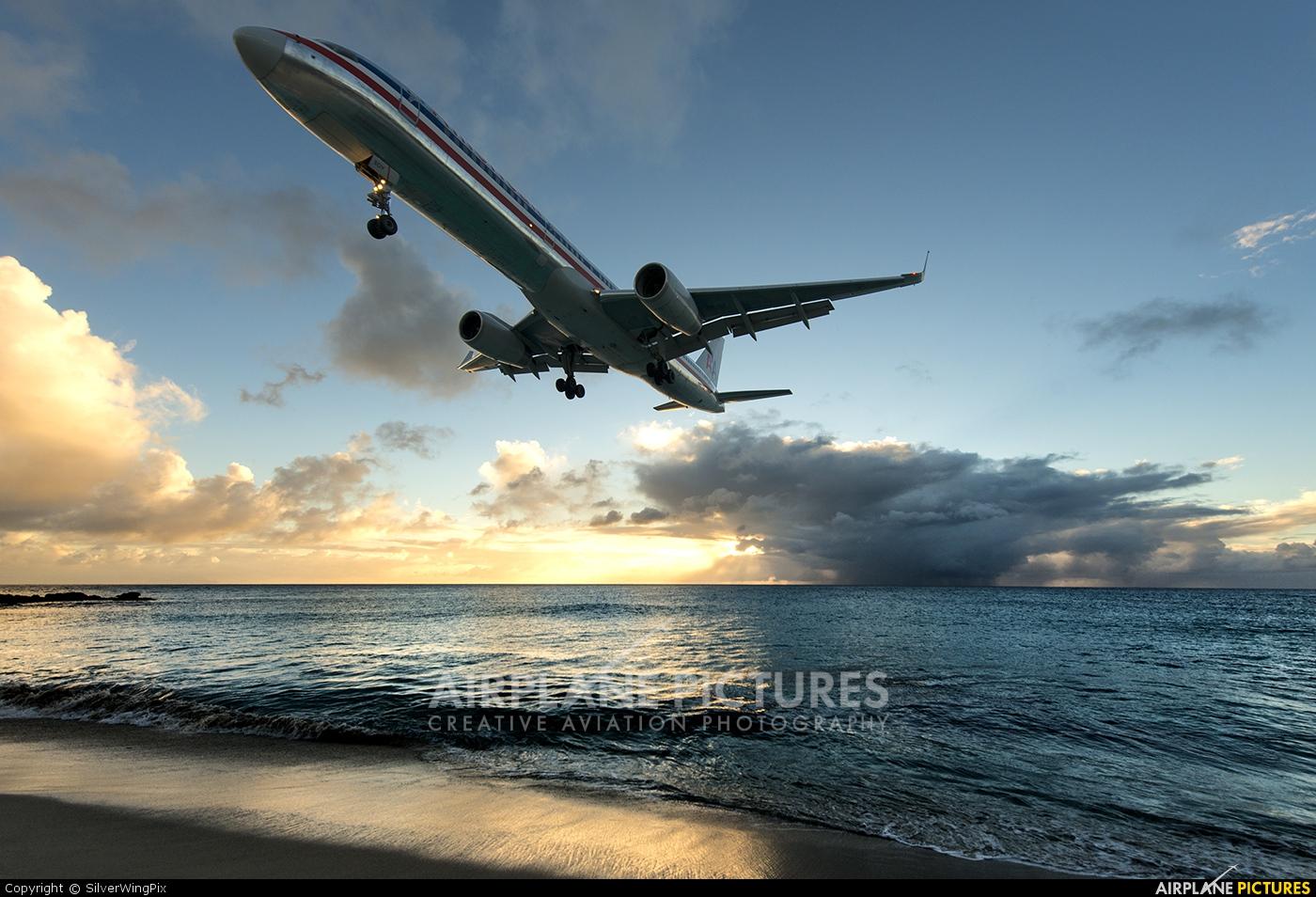 American Airlines N605AA aircraft at Sint Maarten - Princess Juliana Intl