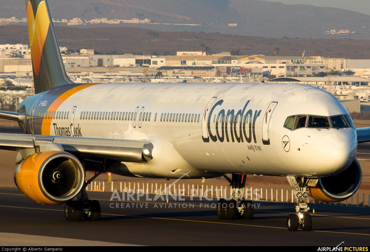 Condor D-ABOJ aircraft at Lanzarote - Arrecife