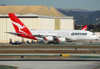 VH-OQB - QANTAS Airbus A380