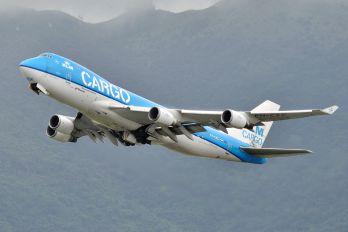 PH-CKC - KLM Cargo Boeing 747-400F, ERF
