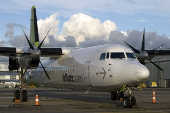 YL-BAC - Air Baltic Fokker 50