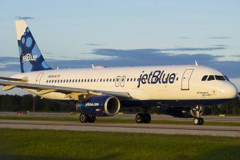 N636JB - JetBlue Airways Airbus A320