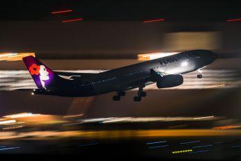 N391HA - Hawaiian Airlines Airbus A330-200