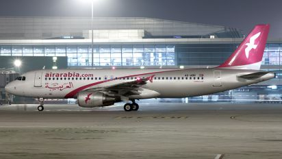 A6-ABR - Air Arabia Airbus A320