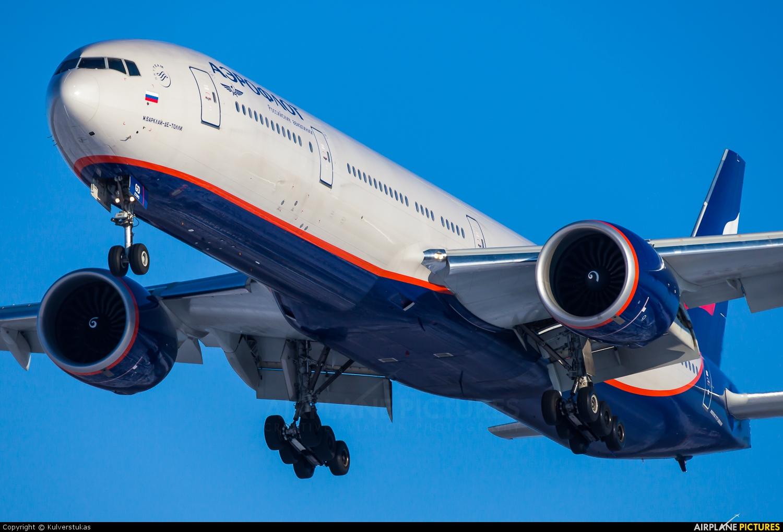 Aeroflot VP-BGD aircraft at Moscow - Sheremetyevo