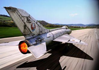 0710 - Slovakia -  Air Force Mikoyan-Gurevich MiG-21F-13