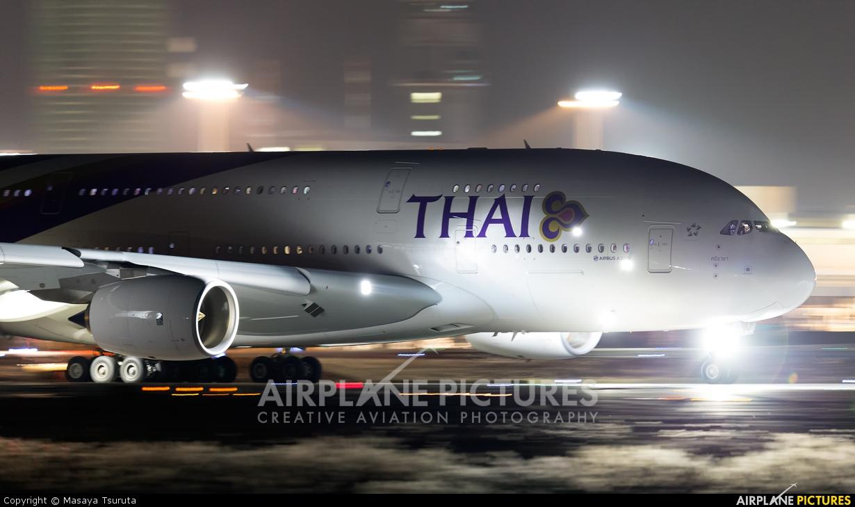 Thai Airways HS-TUE aircraft at Tokyo - Narita Intl