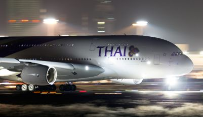 HS-TUE - Thai Airways Airbus A380