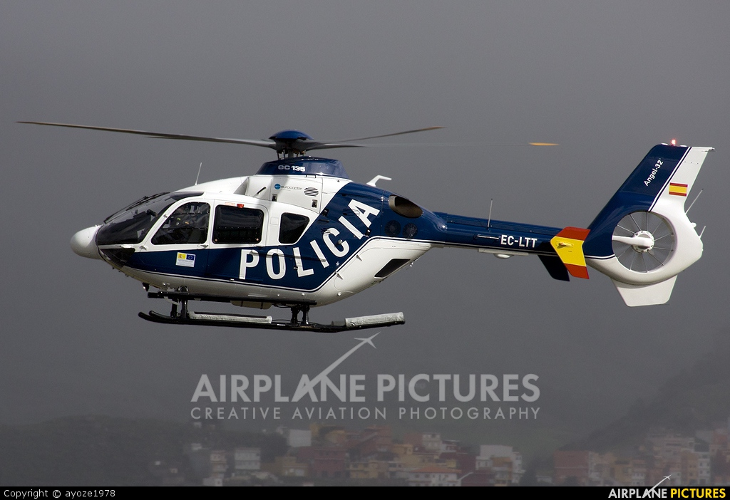 Spain - Police EC-LTT aircraft at Tenerife Norte - Los Rodeos