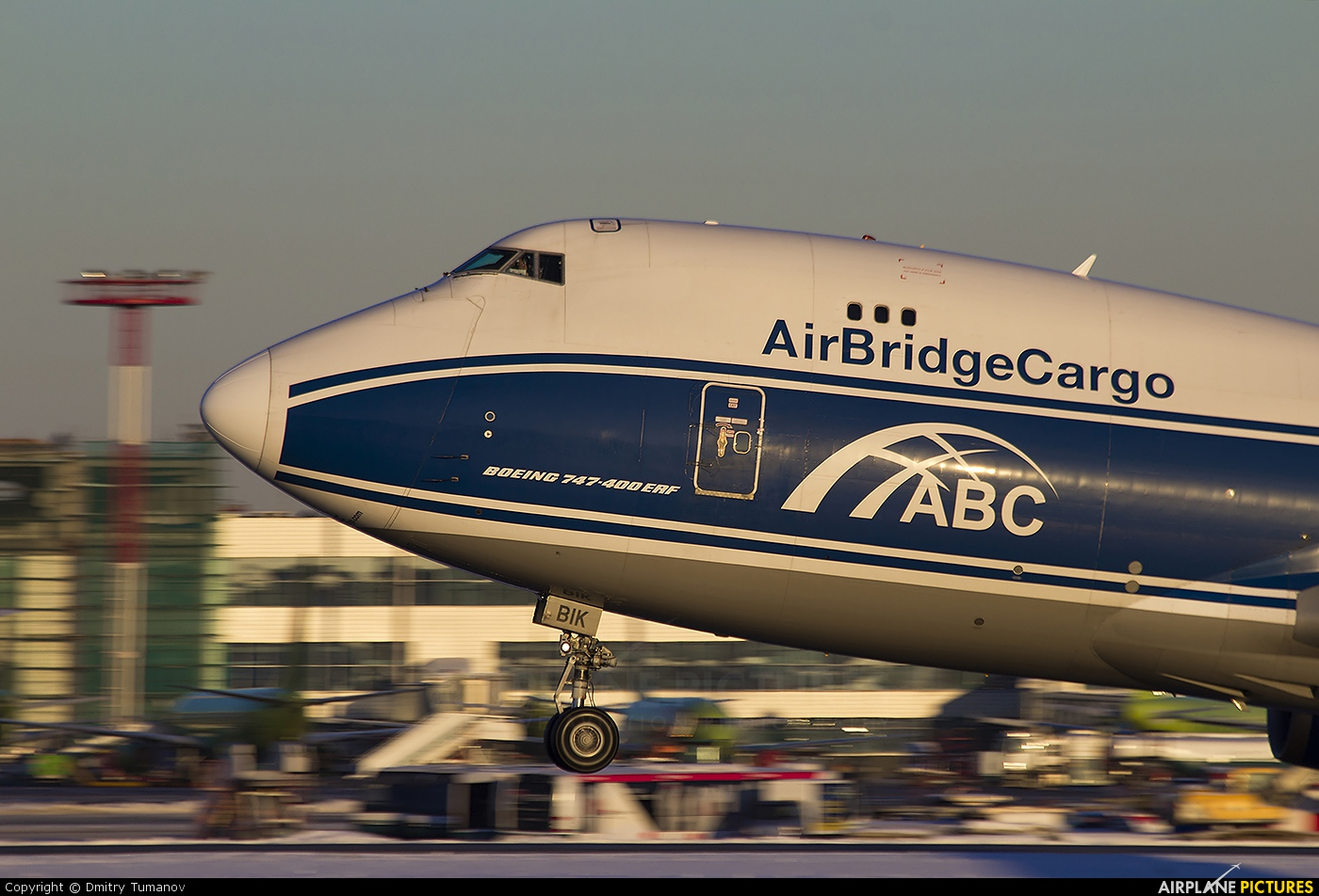 Air Bridge Cargo VP-BIK aircraft at Moscow - Domodedovo