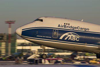 VP-BIK - Air Bridge Cargo Boeing 747-400F, ERF