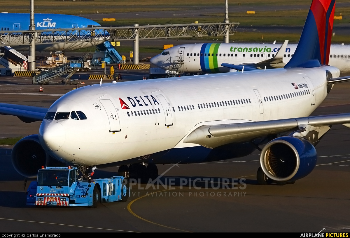 Delta Air Lines N857NW aircraft at Amsterdam - Schiphol