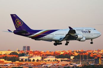 HS-TGH - Thai Airways Boeing 747-400BCF, SF, BDSF