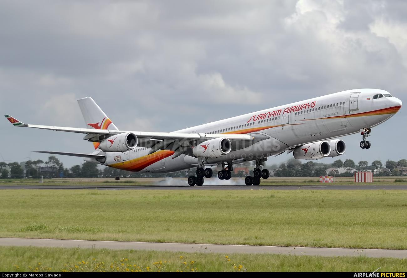 Surinam Airways PZ-TCP aircraft at Amsterdam - Schiphol