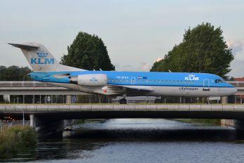 PH-WXA - KLM Cityhopper Fokker 70