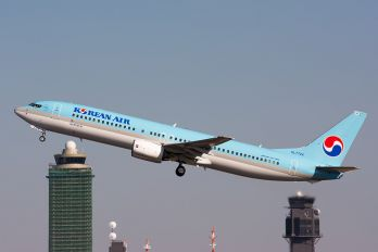 HL7724 - Korean Air Boeing 737-900