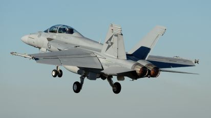 A44-211 - Australia - Air Force Boeing F/A-18F Super Hornet
