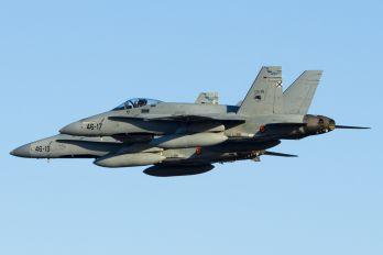 C.15-89 - Spain - Air Force McDonnell Douglas F/A-18A Hornet