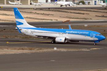 LV-FQB - Aerolineas Argentinas Boeing 737-800