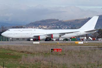 N458BJ - Boeing Company Boeing 747-8