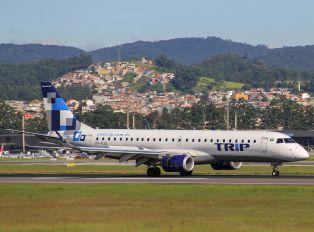 PP-PJU - Trip Linhas Aéreas Embraer ERJ-190 (190-100)