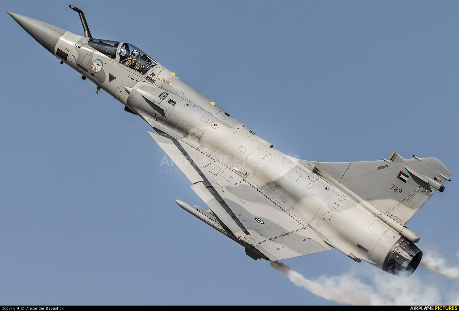 United Arab Emirates - Air Force Dassault Mirage 2000-9 729