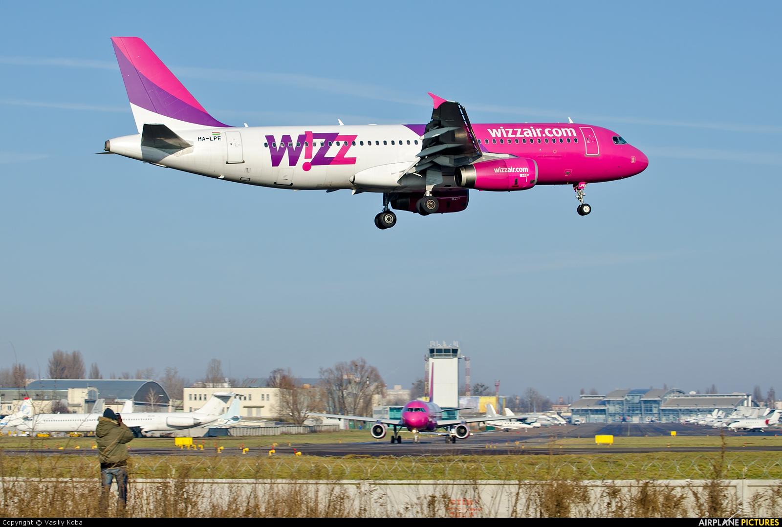 Wizz Air HA-LPE aircraft at Kyiv - Zhulyany
