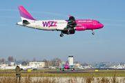 HA-LPE - Wizz Air Airbus A320 aircraft