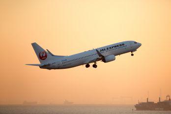 JA348J - JAL - Express Boeing 737-800