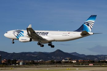 SU-GCJ - Egyptair Airbus A330-200