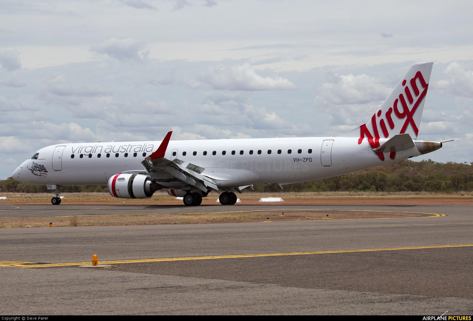 Virgin Australia VH-ZPD aircraft at Townsville