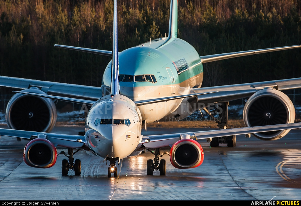 SAS - Scandinavian Airlines LN-RNN aircraft at Oslo - Gardermoen