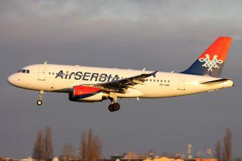A6-SAB - Air Serbia Airbus A319