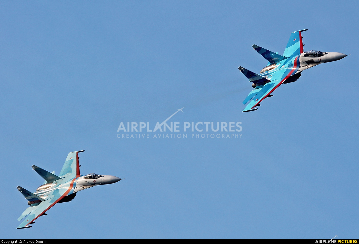 "Russia - Air Force ""Falcons of Russia"" 17 aircraft at Ramenskoye - Zhukovsky"