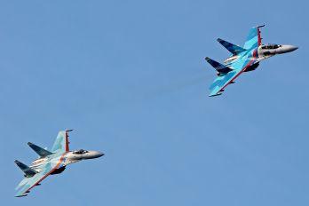 "17 - Russia - Air Force ""Falcons of Russia"" Sukhoi Su-27UB"