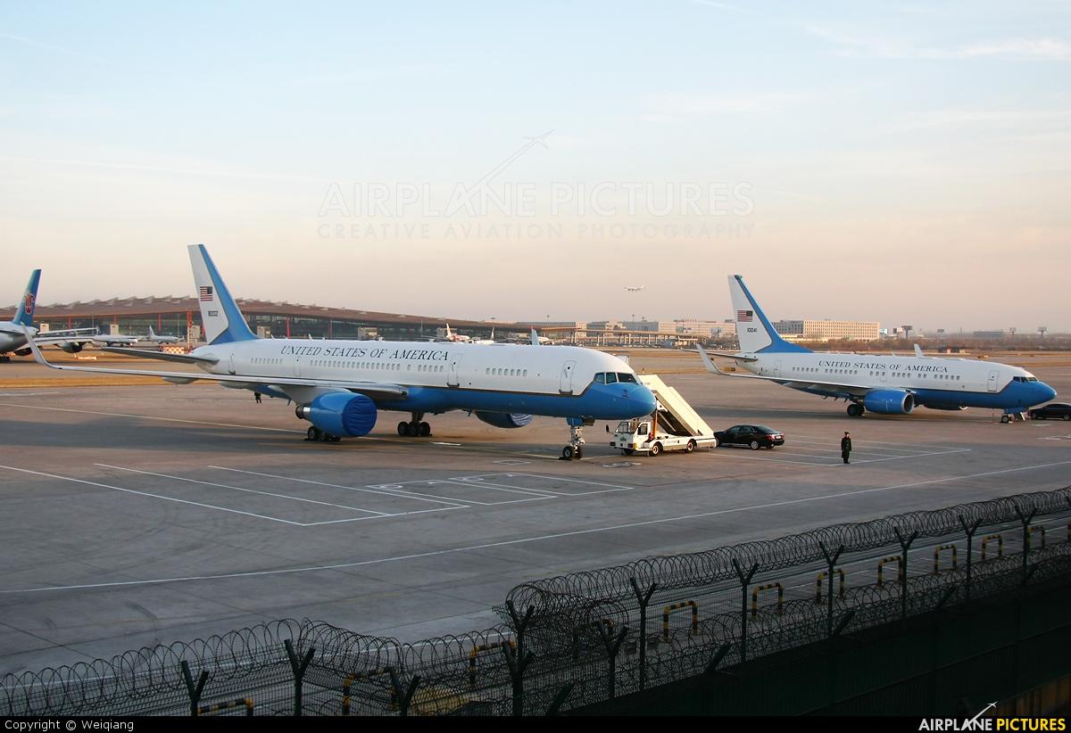 USA - Air Force 98-0002 aircraft at Beijing - Capital