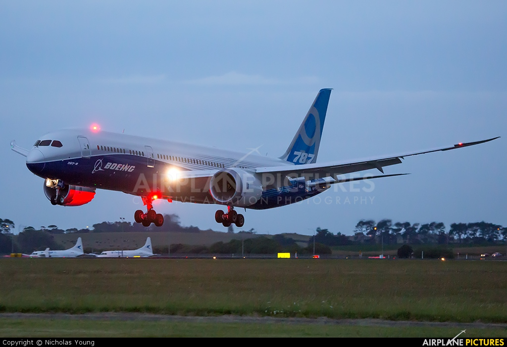 Boeing Company N789FT aircraft at Auckland Intl