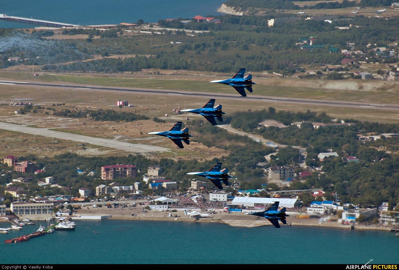 "Russia - Air Force ""Russian Knights"" 10 aircraft at Gelendzhik"