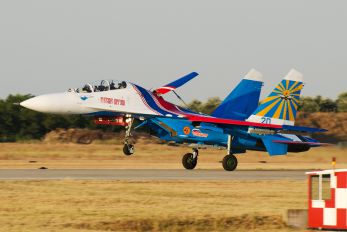 "20 - Russia - Air Force ""Russian Knights"" Sukhoi Su-27UB"