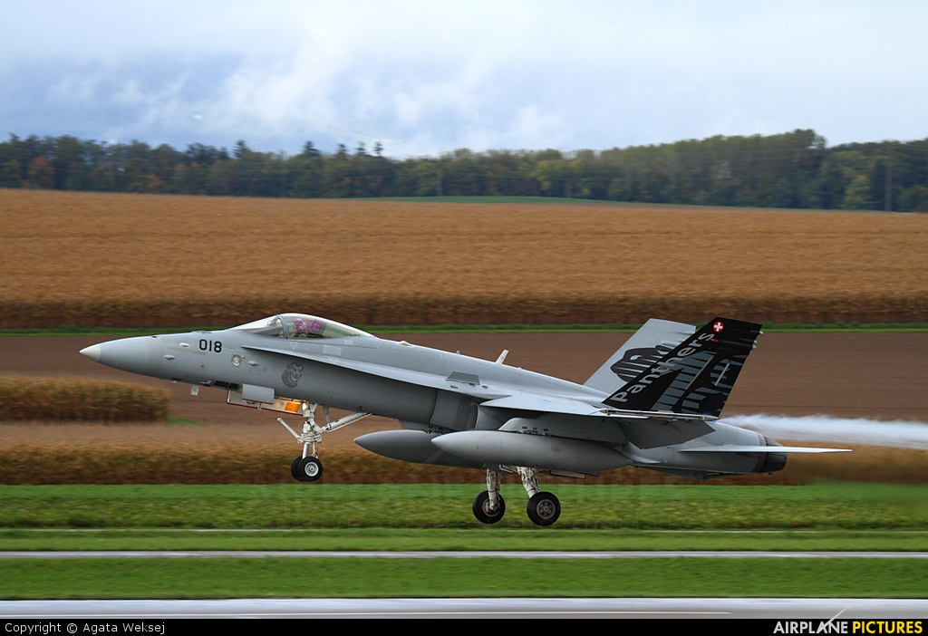 Switzerland - Air Force J-5018 aircraft at Payerne