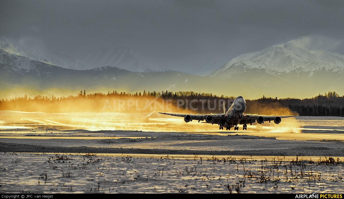 Atlas Air N852GT aircraft at Anchorage - Ted Stevens Intl / Kulis Air National Guard Base