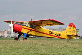 SP-AAF - Aeroklub Bielsko-Bialski Yakovlev Yak-12M