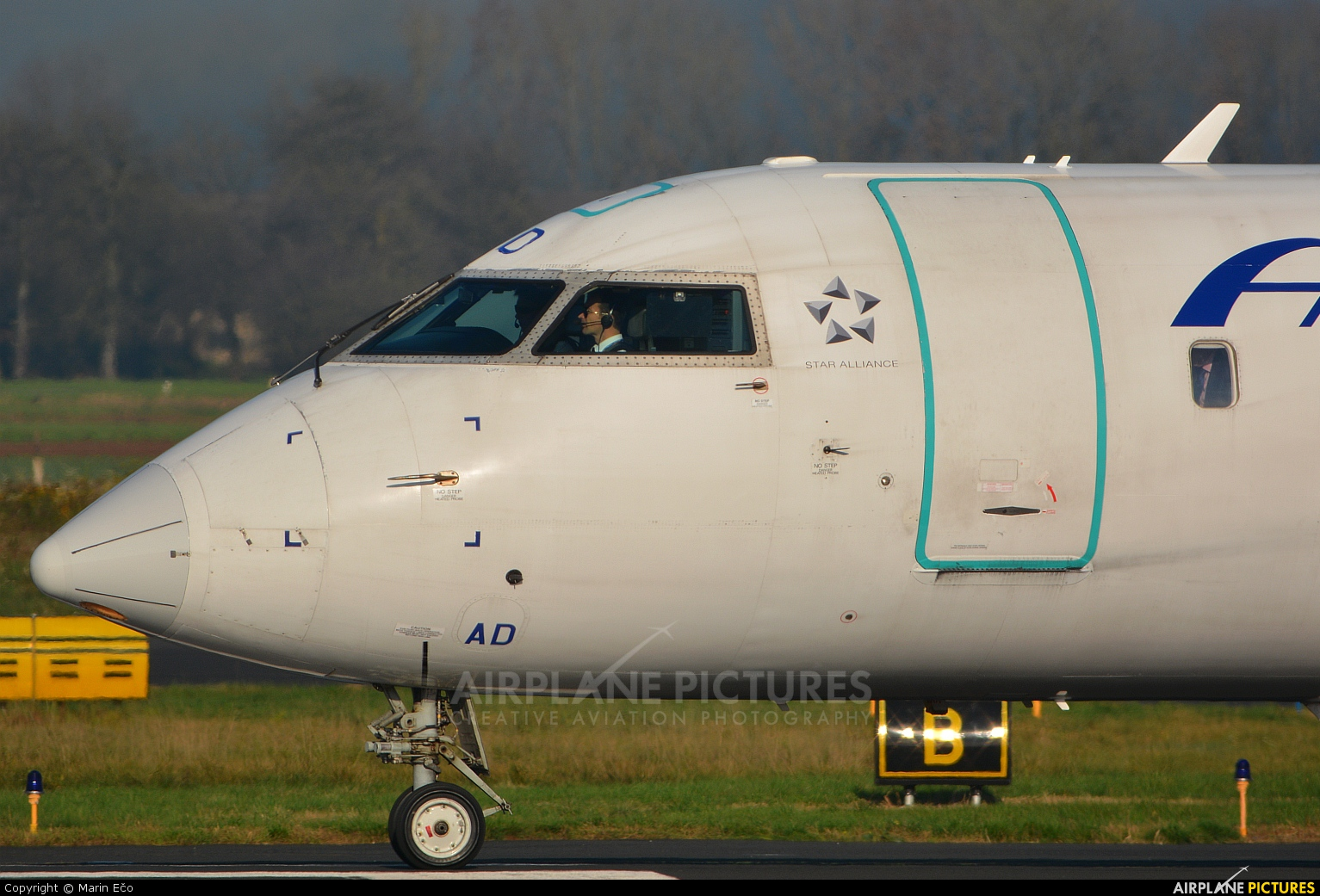 Adria Airways S5-AAD aircraft at Ljubljana - Brnik