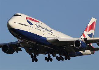 G-BNLY - British Airways Boeing 747-400
