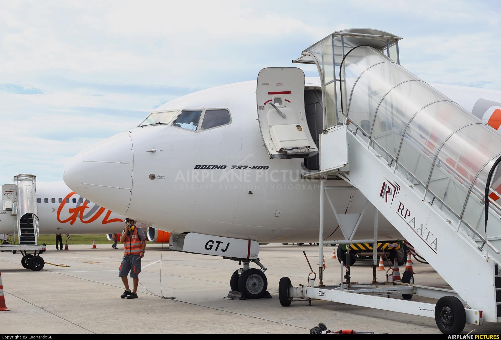 GOL Transportes Aéreos  PR-GTJ aircraft at Florianópolis - Hercílio Luz Intl