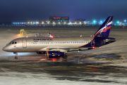 RA-89004 - Aeroflot Sukhoi Superjet 100 aircraft