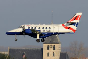 OY-SVB - British Airways - Sun Air Scottish Aviation Jetstream 31