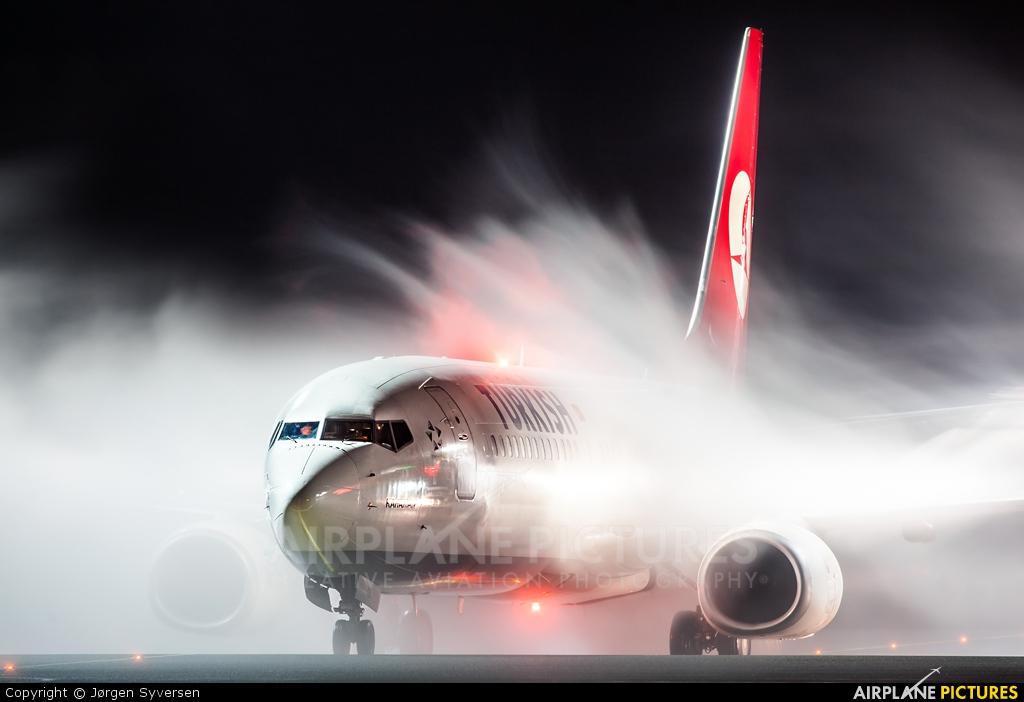 Turkish Airlines TC-JGL aircraft at Oslo - Gardermoen
