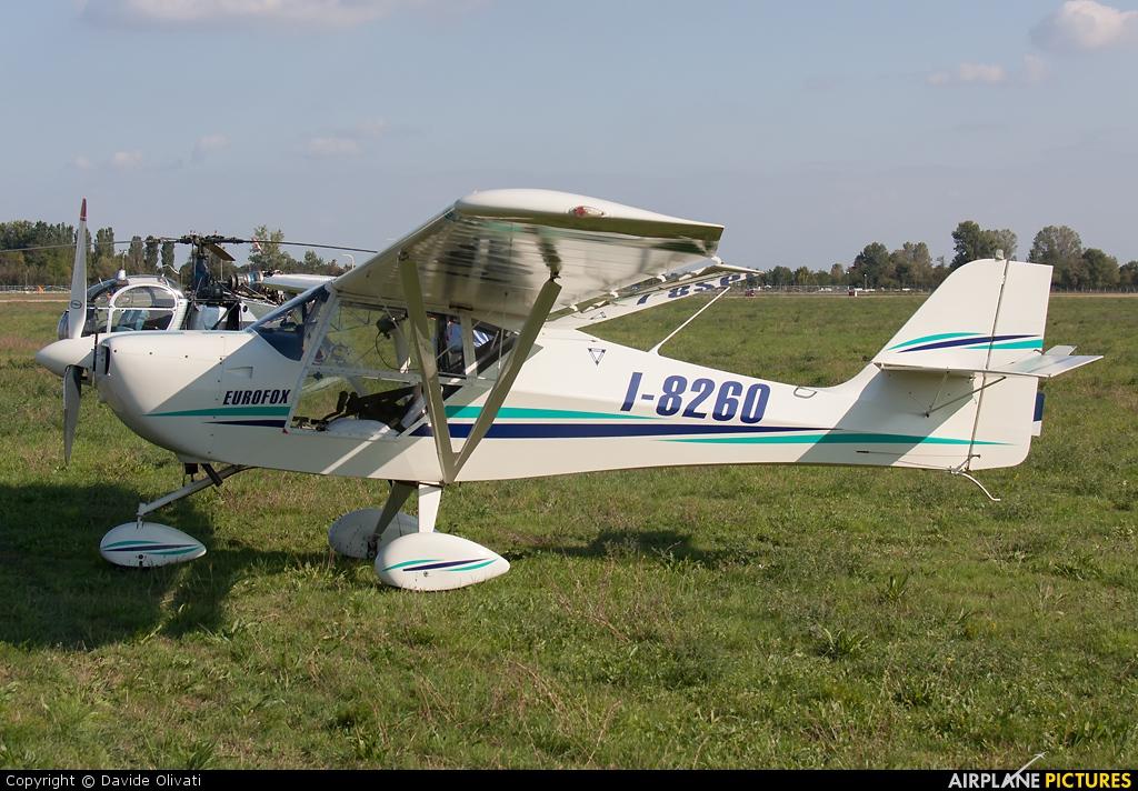 Private I-8260 aircraft at Reggio Emilia